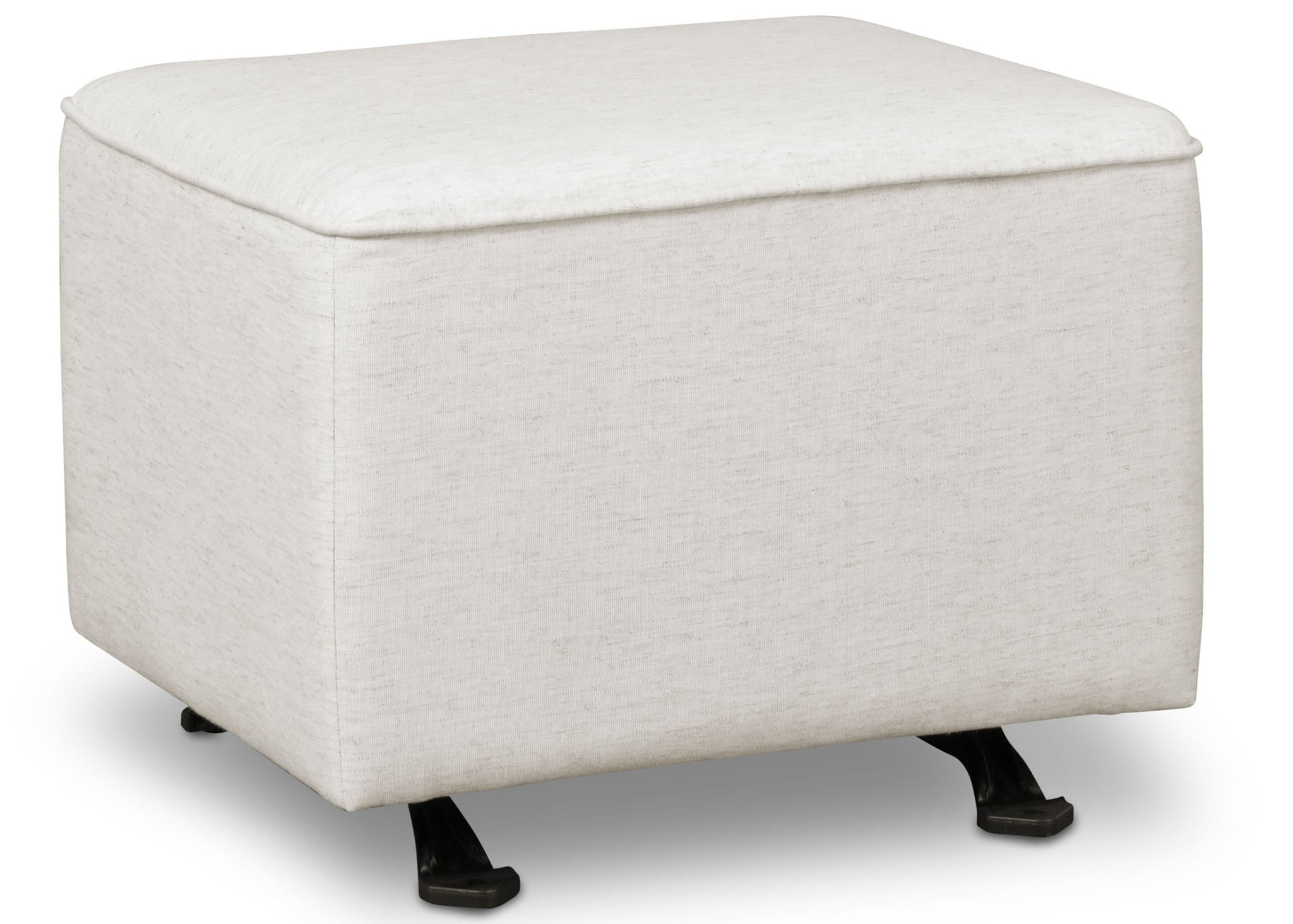 Delta Children Sand (921) Non Tufted Ottoman (501320), Right Silo d3d