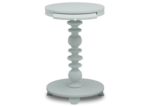 Delta Children Misty Blue (1330) Emery End/Side Table (531460), Front Silo, d4d