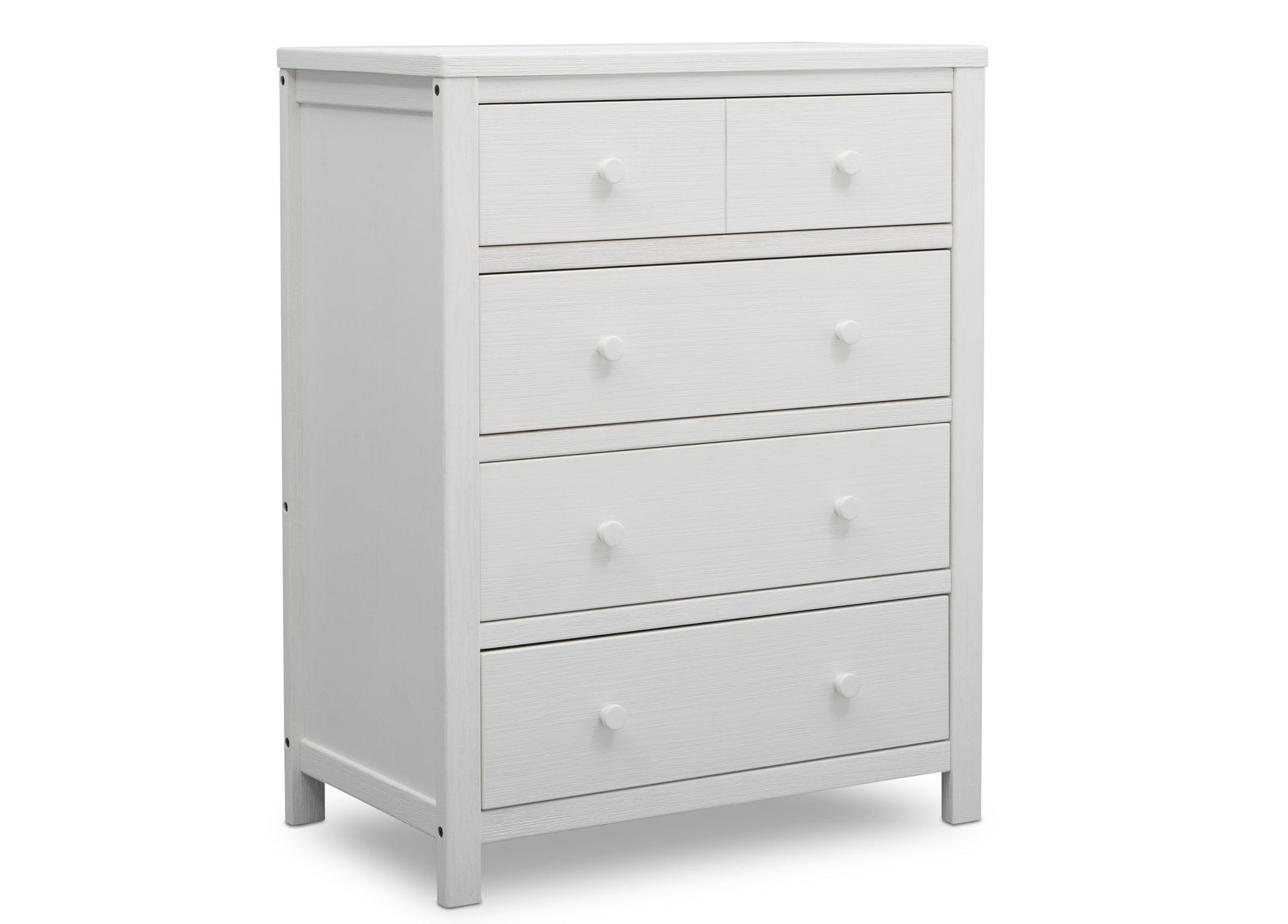 Delta Children Rustic Bianca (170) Cambridge 4 Drawer Dresser (535040), Side View, a2a
