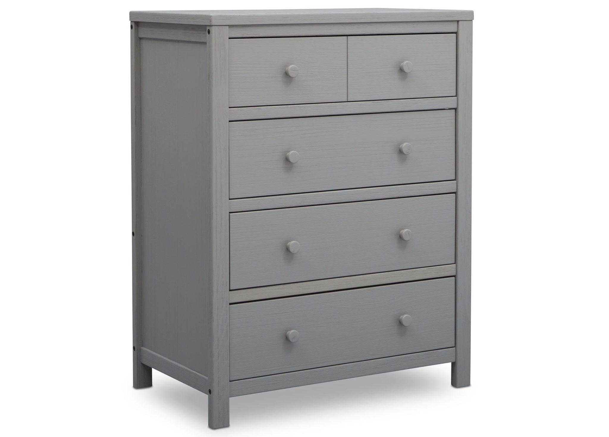 Delta Children Rustic Haze (940) Cambridge 4 Drawer Dresser (535040), Side View, c2c