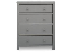 Delta Children Rustic Haze (940) Cambridge 4 Drawer Dresser (535040), Front View, c3c