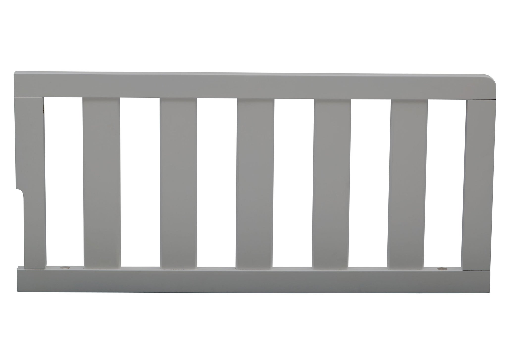 Delta Children Grey (026) Guardrail (536725), Front View, a1a