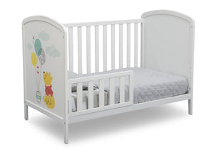 Delta Children Bianca White with Pooh (1301) Disney Winnie The Pooh 3-in-1 Convertible Baby Crib by Delta Children, Toddler Bed View a4a