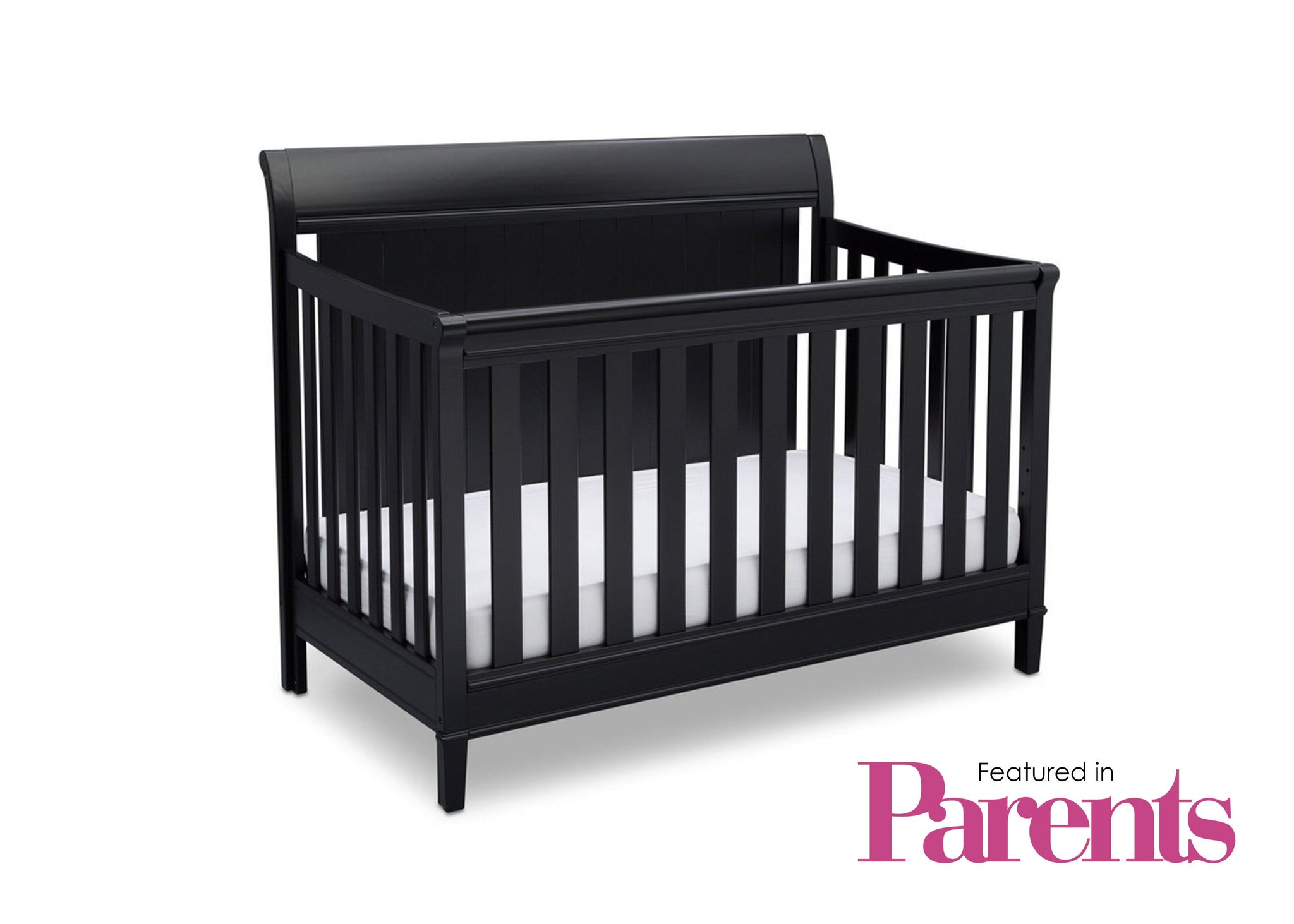 Delta Children Ebony (0011) New Haven 4-in-1 Crib, With Seal, a7a