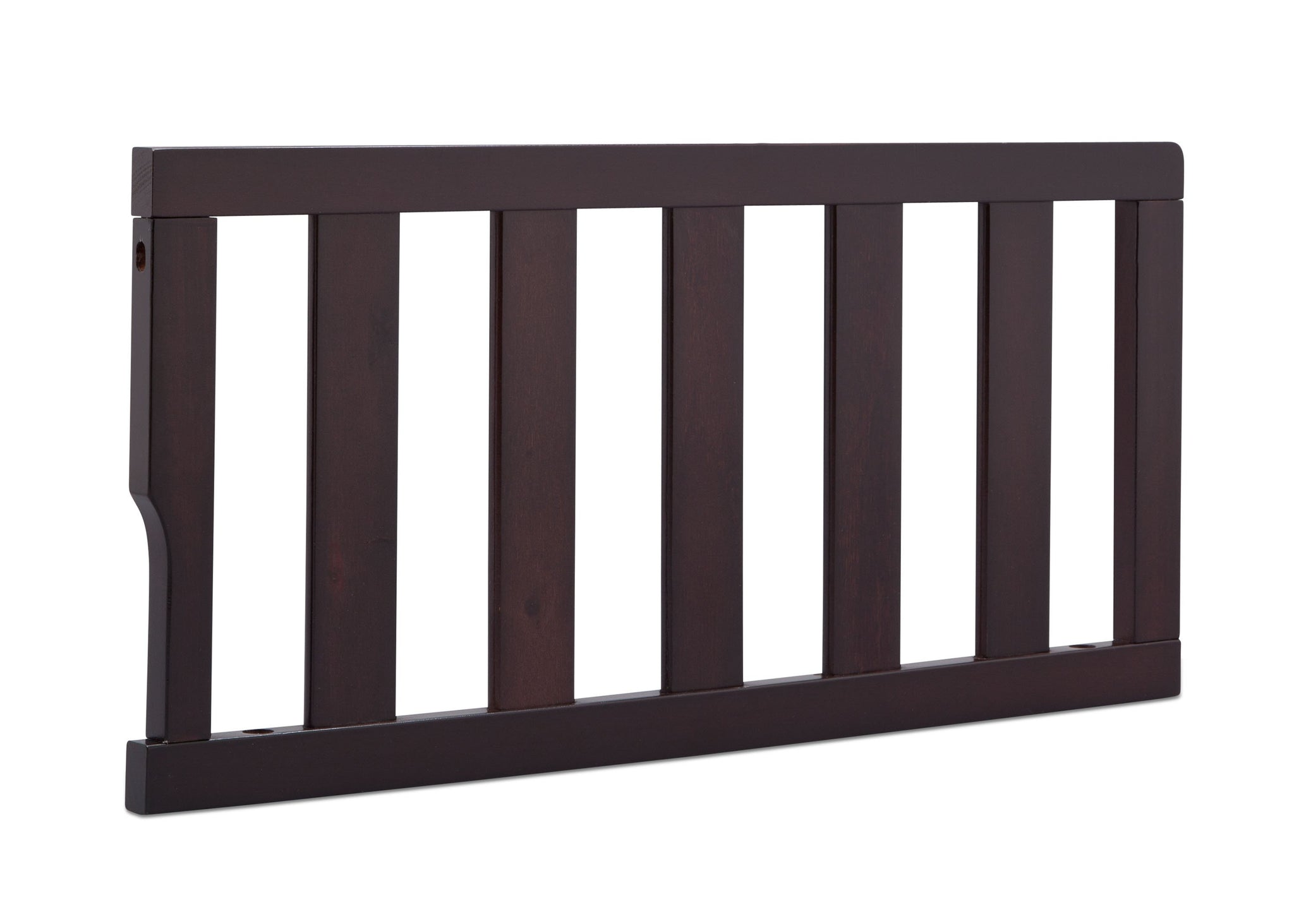 Delta Children Dark Espresso (958) Bennington Elite Toddler Guardrail (550725), Right Angle, c2c