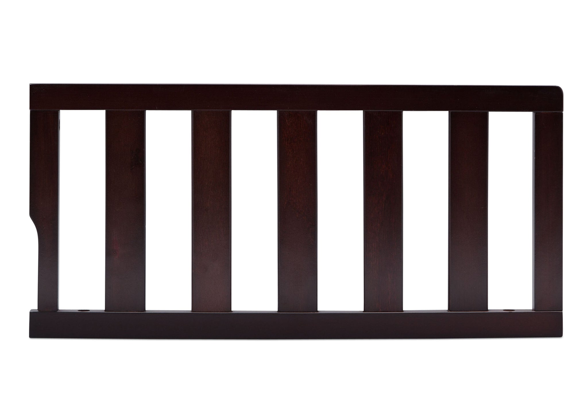 Delta Children Dark Espresso (958) Bennington Elite Toddler Guardrail (550725), Straight, c1c