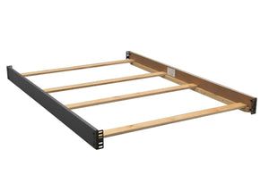 Delta Children Charcoal (029) Bennington Elite Full Size Bed Rails (550750) b1b