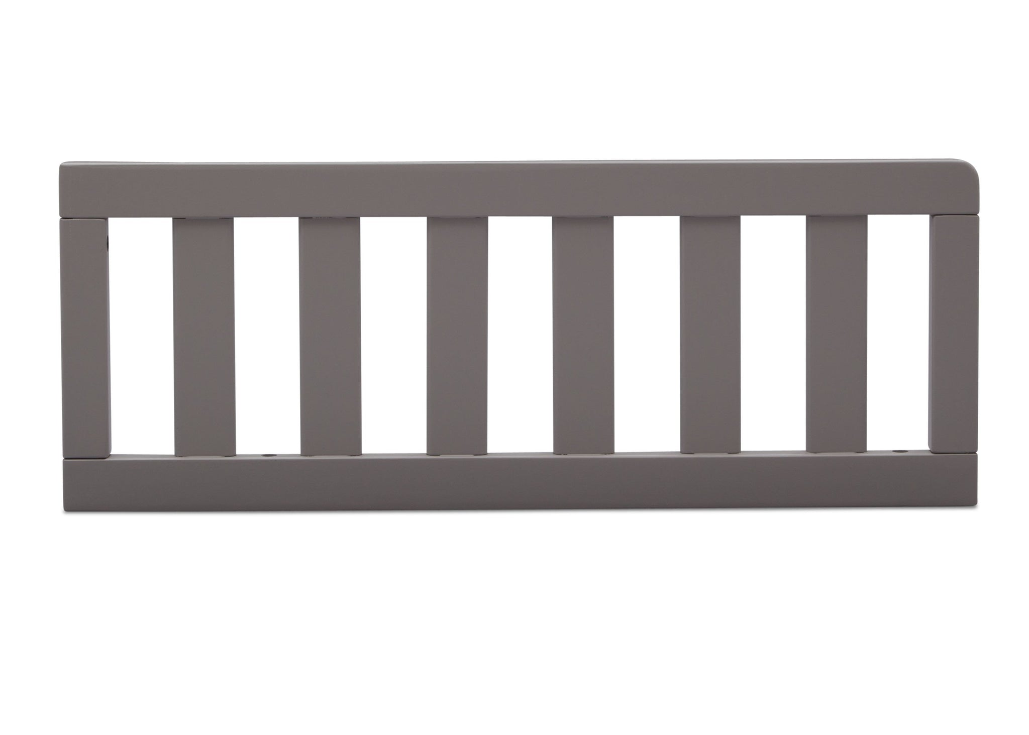 Delta Children Grey (026) Daybed/Toddler Guardrail Kit (553725), Straight Guardrail, a3a