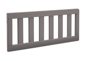 Delta Children Grey (026) Daybed/Toddler Guardrail Kit (553725), Right Angle Guardrail, a4a