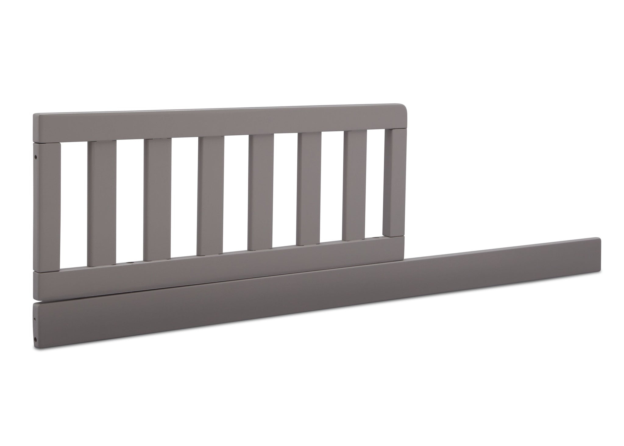Delta Children Grey (026) Daybed/Toddler Guardrail Kit (553725), Right Angle Daybed, a2a