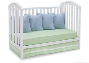 Delta Children White (100) Arbour 3-in-1 Crib Daybed Conversion a6a