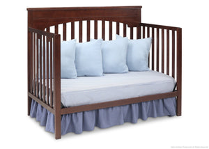 Delta Children Chocolate (204) Layla 4-in-1 Crib, Day Bed Conversion b5b
