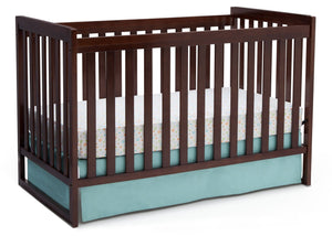 Delta Children Chocolate (204) Urban Classic 3-in-1 Crib, Crib Conversion b4b