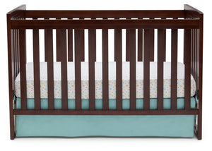 Delta Children Chocolate (204) Urban Classic 3-in-1 Crib, Crib Conversion b3b