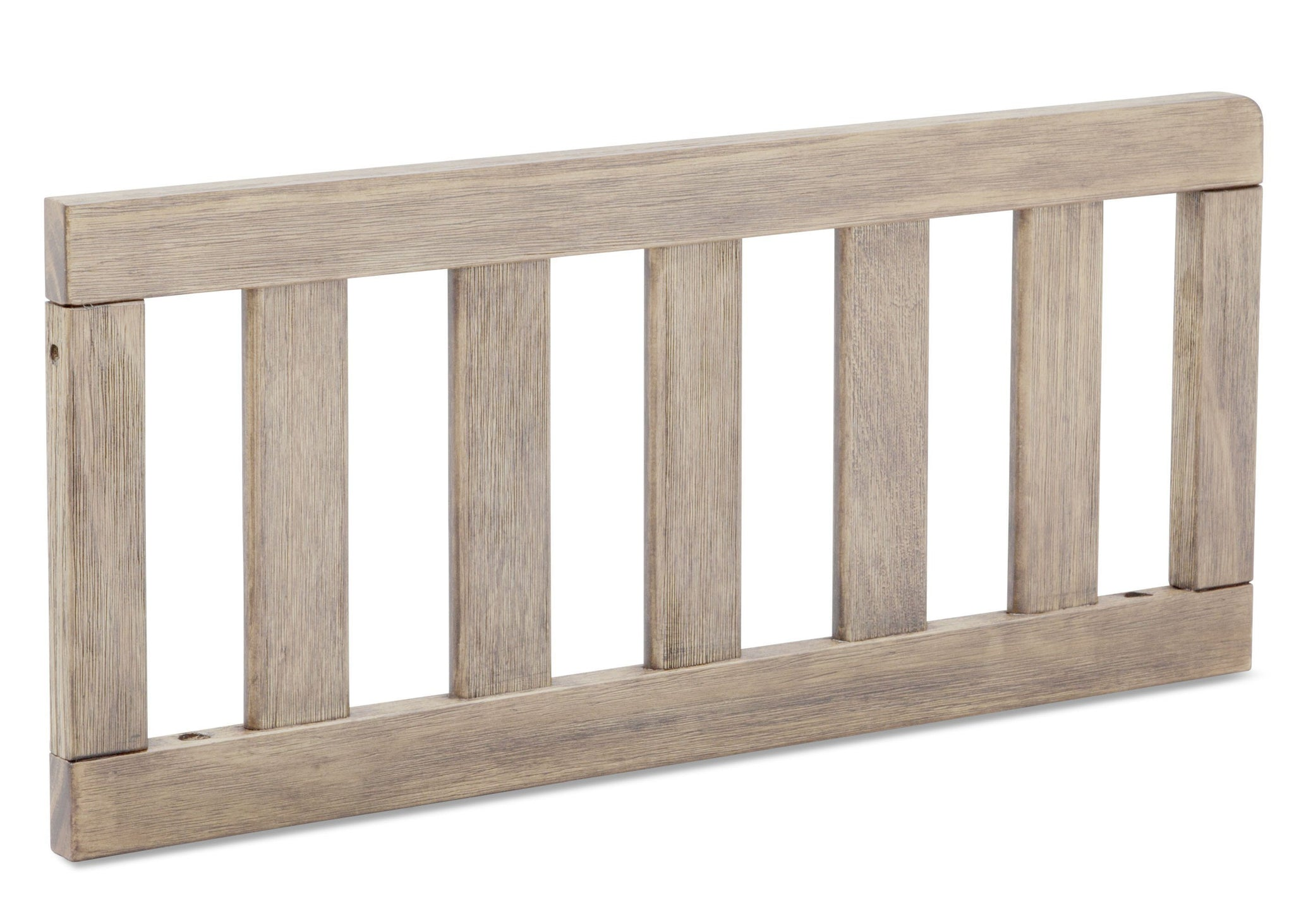 Serta Rustic Driftwood (112) Toddler Guardrail (701725), side view, b3b