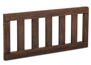 Serta Rustic Oak (229) Toddler Guardrail (701725), Angled View c2c