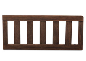 Serta Rustic Oak (229) Toddler Guardrail (701725), Front View c1c