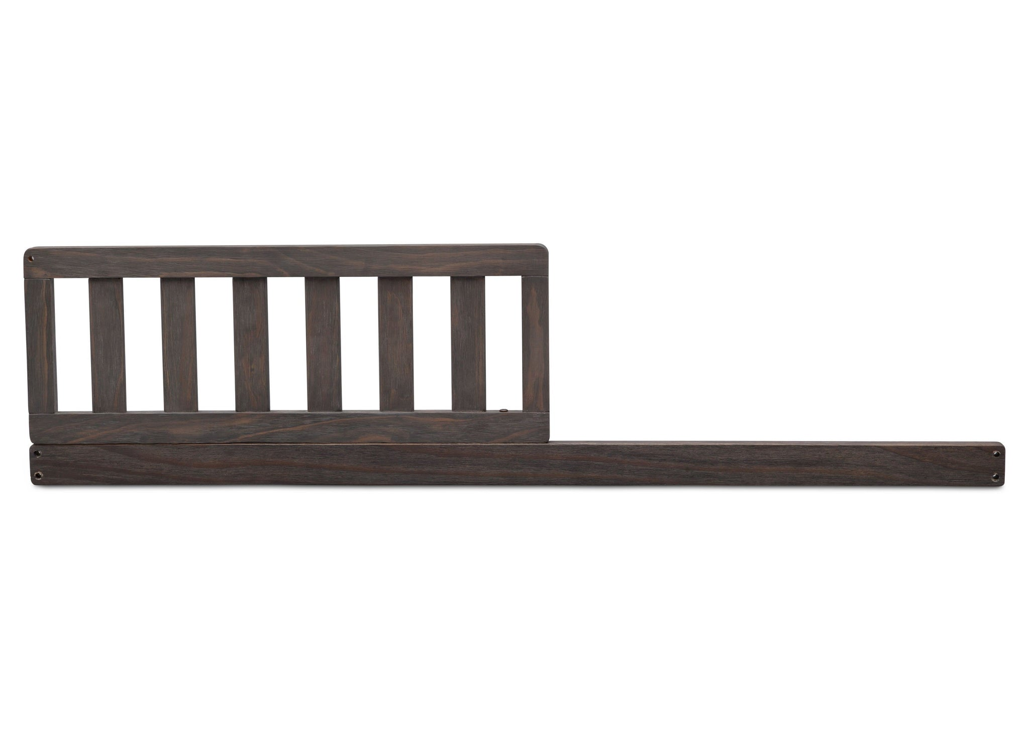 Serta Daybed/Toddler Guardrail Kit (703725) Rustic Grey (084ST) Front View a0a