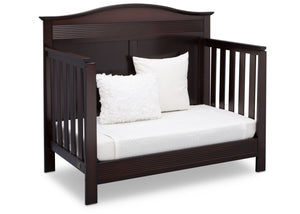 Serta Dark Chocolate (207) Barrett 4-in-1 Convertible Crib, Right Daybed View c4c