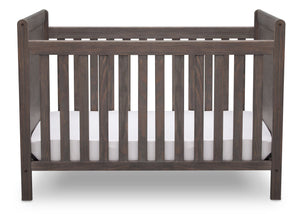 Delta Children Rustic Grey (084) Cali 4-in-1 Crib, front view, a2a