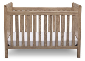Delta Children Rustic Driftwood (112), Cali 4-in-1 Crib, front view, b2b