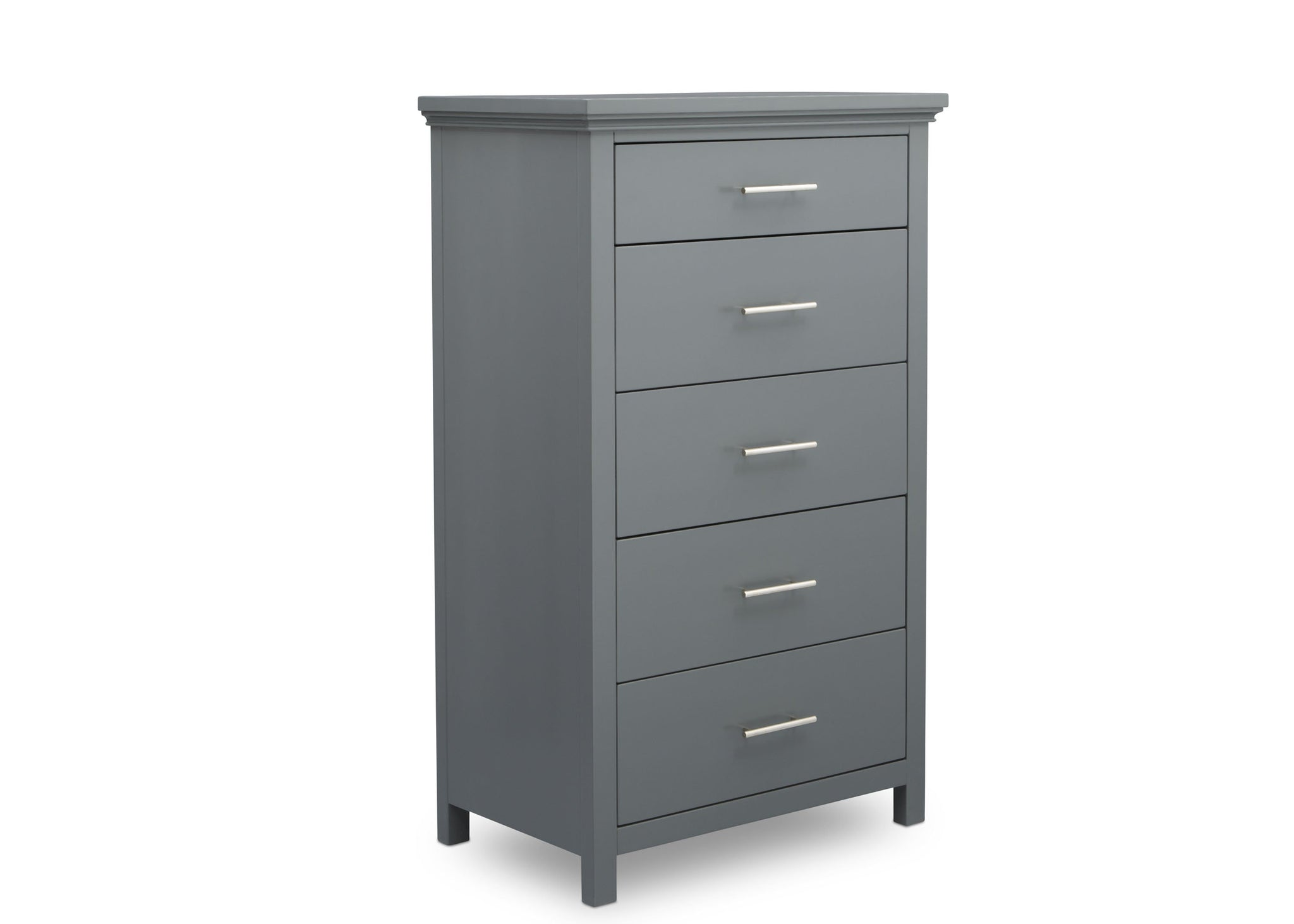 Delta Children Charcoal Grey (029) Avery 5 Drawer Chest (708050), Sideview, a3a