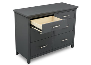 Delta Children Charcoal Grey (029) Avery 6 Drawer Dresser (708060), Detail, a4a