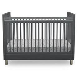 Avery 3-in-1 Convertible Crib (Charcoal Grey)