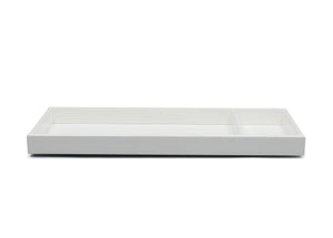 Delta Children Bianca White (130) Avery Changing Tray (708710), Front View, b2b