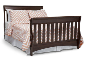 Delta Children Chocolate (204) Birkdale 4-in-1 Crib, Full Size Bed Conversion a6a