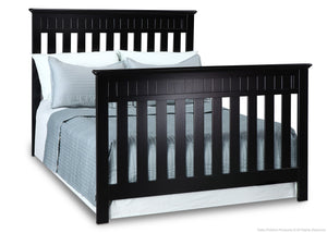 Delta Children Black (001) Chalet 4-in-1, Full-Size Bed Conversion a5a