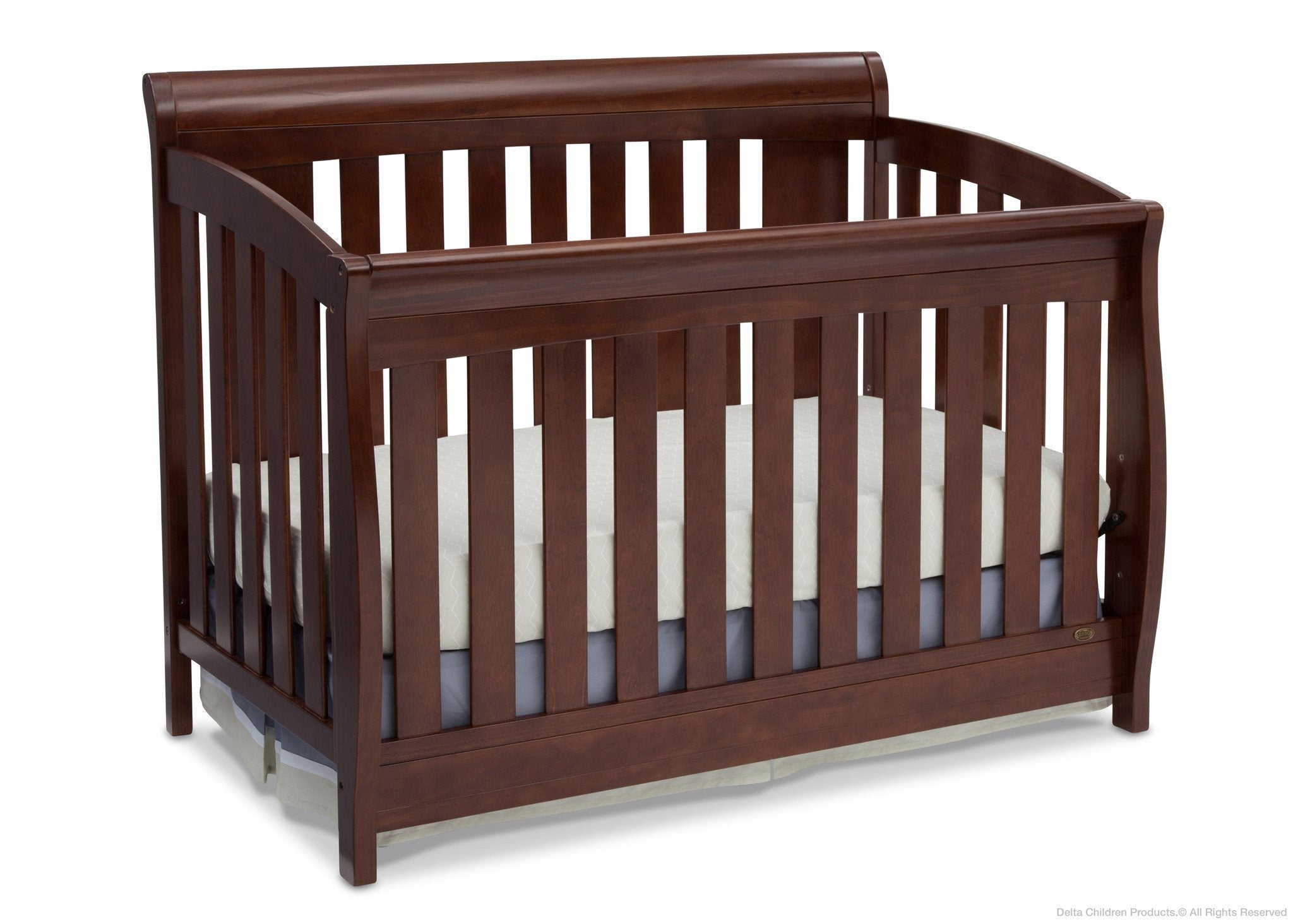 Delta Children Chocolate (204) Clermont 4-in-1 Crib, Crib Conversion b2b