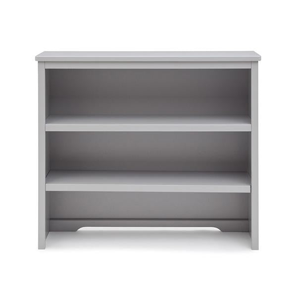 Simmons Kids Grey (026) Rowen Bookcase & Hutch atop Bases a2a