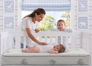 Serta Perfect Embrace Crib and Toddler Mattress, Room View