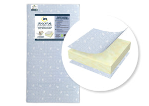 Serta SleepTrue Sweet Moon Crib and Toddler Mattress, Cutout View No Color (NO)