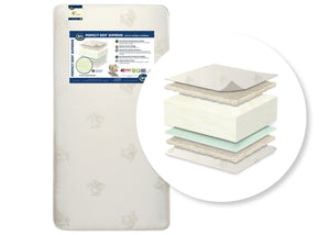 Serta® Perfect Rest® Supreme Crib and Toddler Mattress Cutout View a2a No Color (NO)