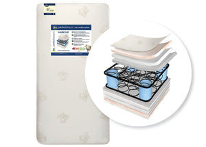 Perfect Sleeper Harbour Innerspring Crib and Toddler Mattress (A45538-1025-NO), cutout, a2a No Color (NO)