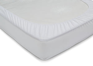 Beautyrest KIDS Fitted Crib Mattress Pad Rear View No Color (NO)