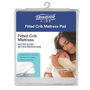 Beautyrest KIDS Fitted Crib Mattress Pad Package View No Color (NO)