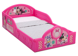 Minnie Mouse (1063), Minnie Mouse Plastic Sleep and Play Toddler Bed Side View