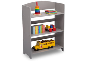 Delta Children Grey (026) MySize Bookshelf, Right Angle, a2a