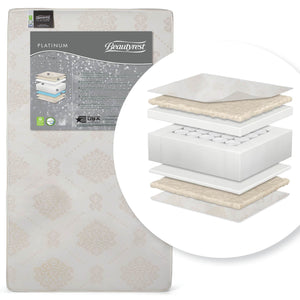 Serta Beautyrest PLATINUM 2 Stage Crib and Toddler Mattress (M59345-5040), a1a No Color (NO)