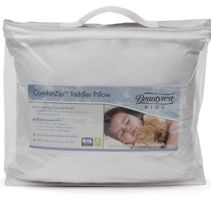 Beautyrest KIDS ComforZip Toddler Pillow Packaged View a1a Style 1 No Color (NO)