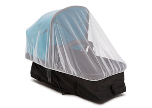 Delta Children White (100) Universal Mosquito Net for Infant Cars Seats, Infant Strollers & Bassinets Sleeper View a3a