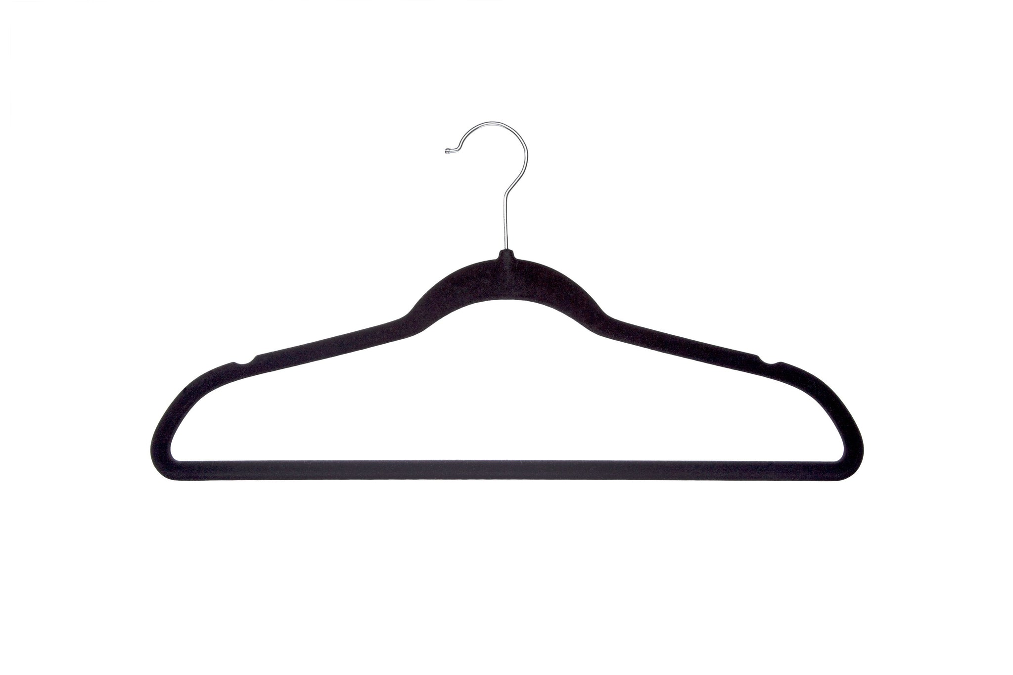Delta Children Velvet Hangers (pack of 50) Black (001), Single View