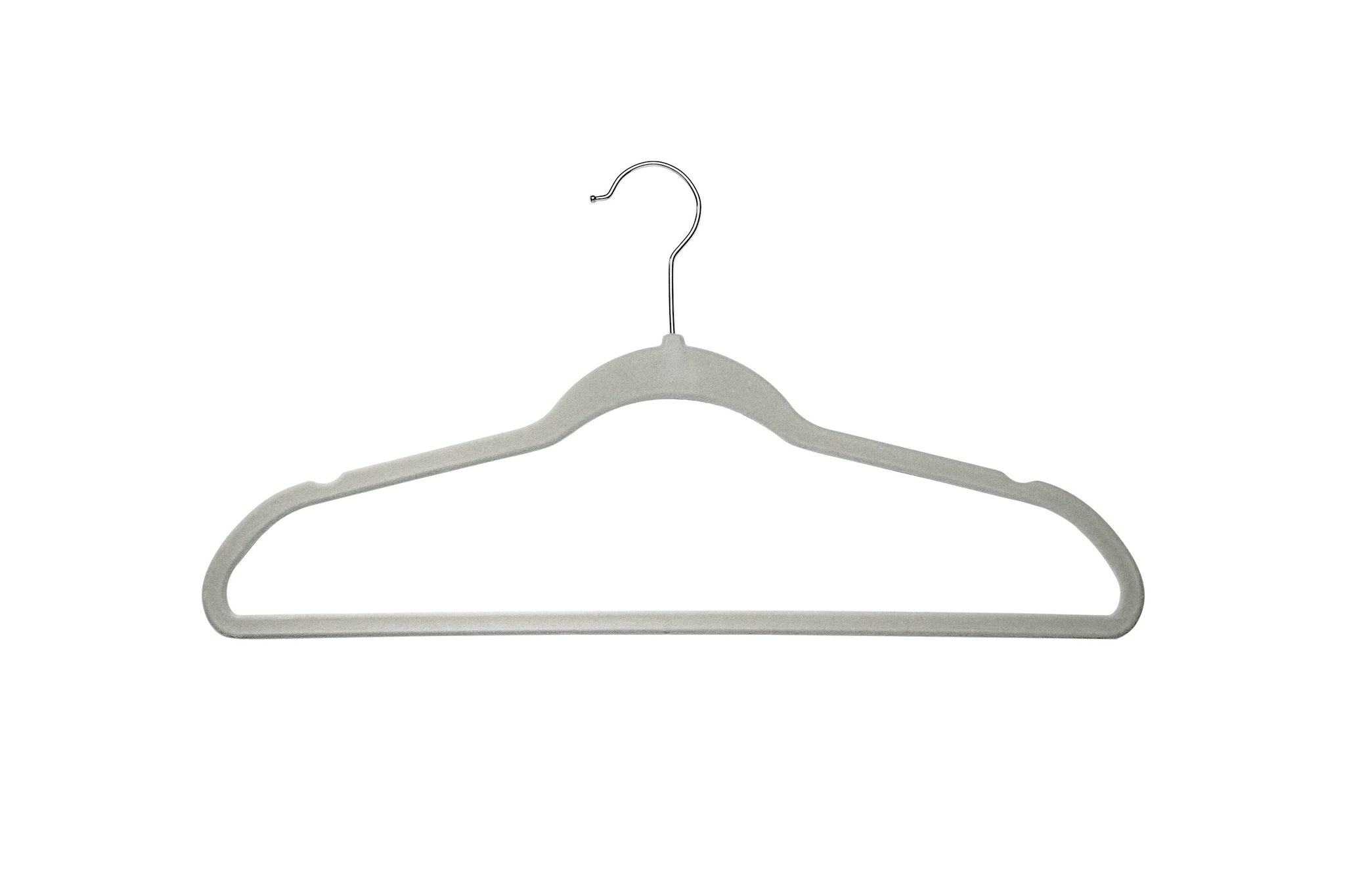 Delta Children Velvet Hangers (pack of 50) Dove Grey (058), Single View