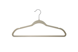 Delta Children Velvet Hangers (pack of 50) Beige (250), Single View