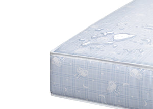 Serta SleepTrue Sweet Moon Crib and Toddler Mattress, Waterproof View No Color (NO)