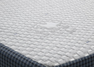 Delta Children Doze 8-Inch Gel Memory Foam Twin Mattress, Waterproof View No Color (NO)