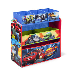 Delta Children Blaze and the Monster Machines Multi-Bin Toy Organizer, Right View